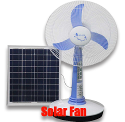 Solar Powered Fan