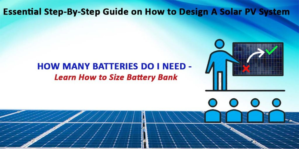 Sizing the Battery Bank