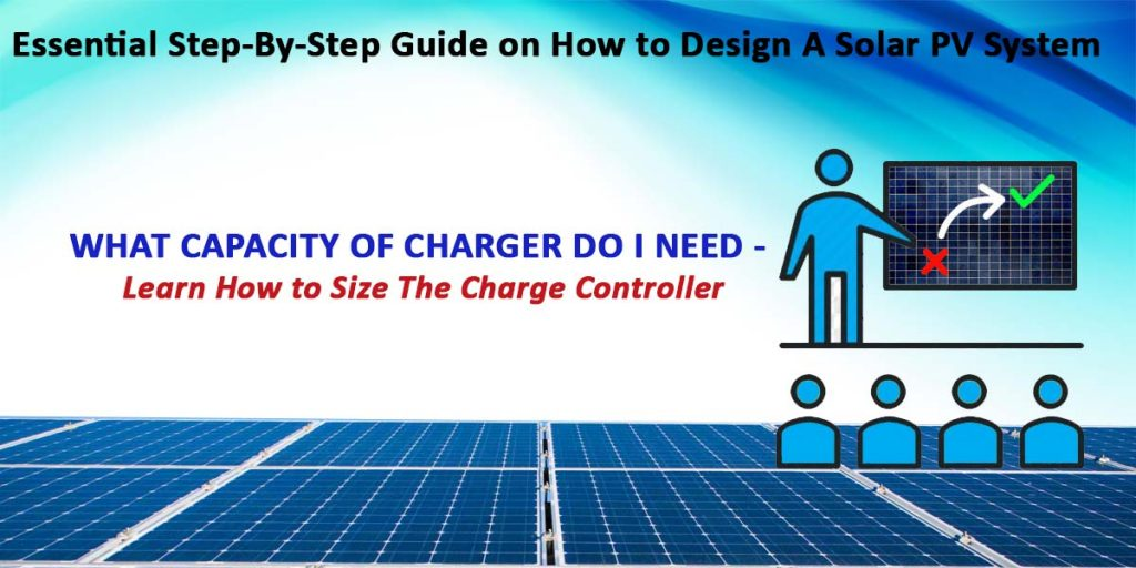 Sizing Charge Controller
